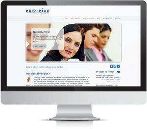 Website Emergion.nl